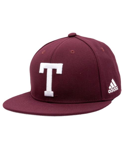 Adidas Men's Block T On-Field Fitted Baseball Cap