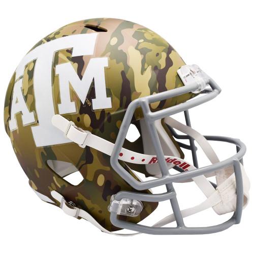 Texas A&M Aggies Riddell Camo Speed Replica Football Helmet