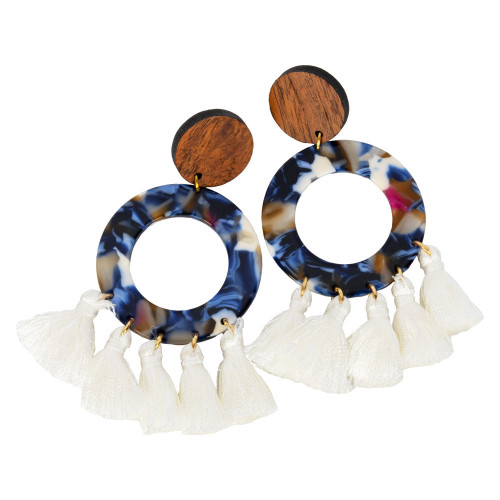 Uniquely Mesquite Women's Twilight Acrylic Earrings