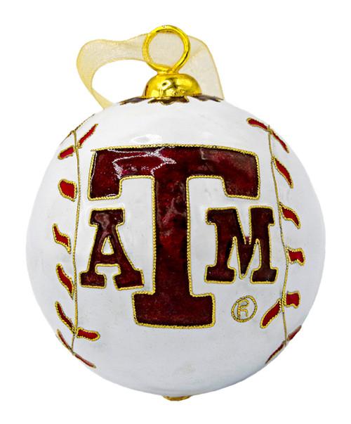 Kitty Keller Custom Baseball Christmas Ornament