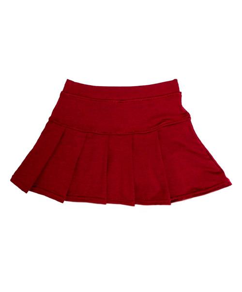 Azarhia Youth Maroon Tennis Skirt