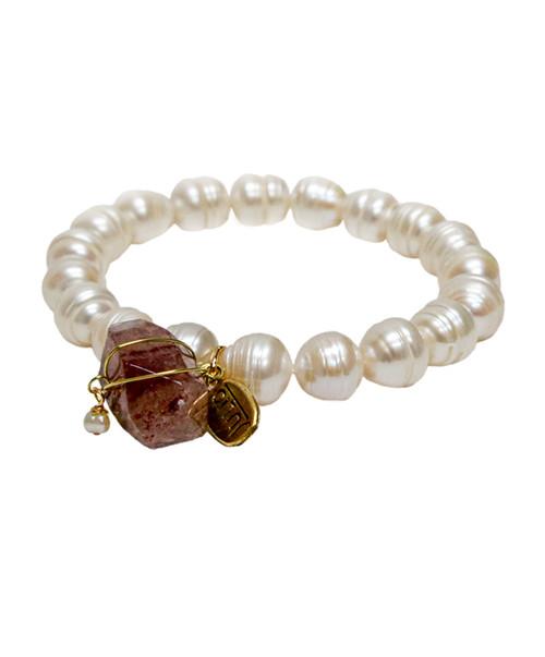 Julio Designs Women's Inspire Pearl Bracelet 1