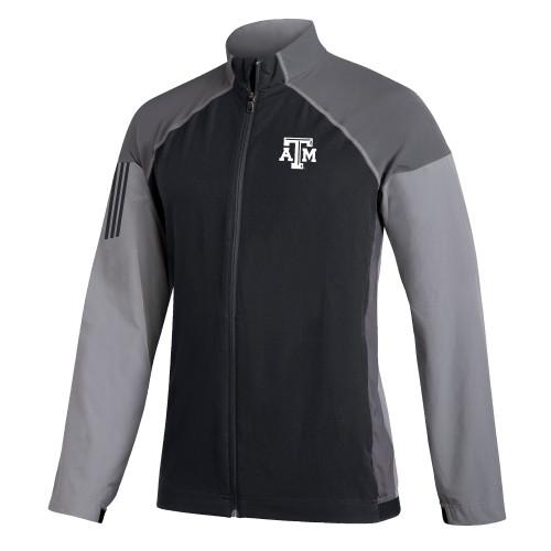 Adidas Men's Golf Stretch Windwear Full Zip Jacket