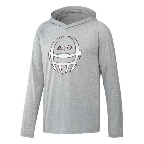 Adidas Men's Locker Chromed Helmet Long Sleeve Freelift Hood