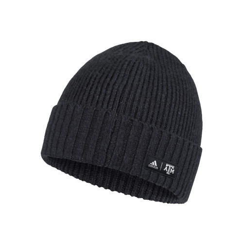 Adidas Men's Black Cuffed Beanie