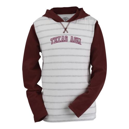 Garb Youth Court Lightweight Cotton Striped Hood