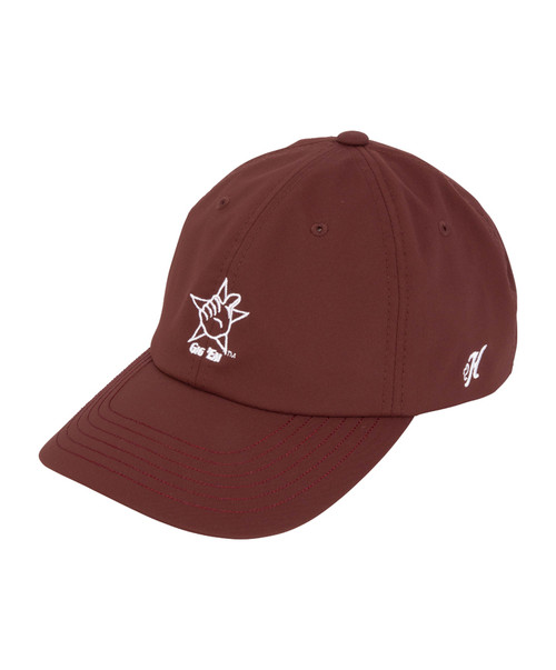 Hooey Maroon Adjustable Cap