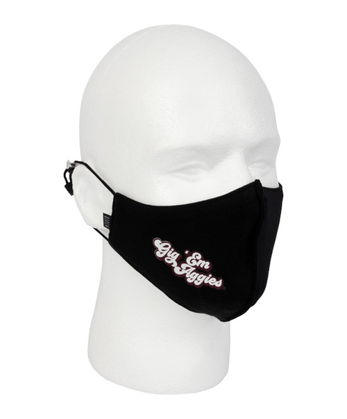 Kadyluxe Black Retro Face Mask
