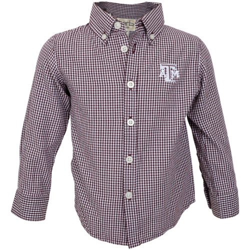 Garb Toddler Cole Woven Long Sleeve Gingham