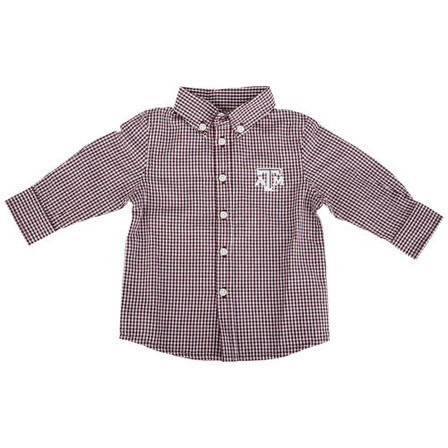 Garb Infant Cole Woven Long Sleeve Gingham