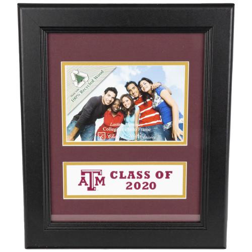 Church Hill Classics 4 x 6 Black Class of 2020 Banner Frame