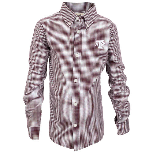 Garb Youth Cole Woven Long Sleeve Gingham