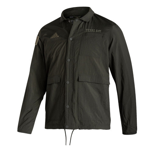 Adidas Men's Salute to Service Coaching Jacket