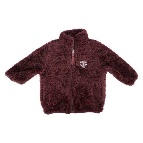 Garb Infant Joel Full Zip Sherpa Jacket