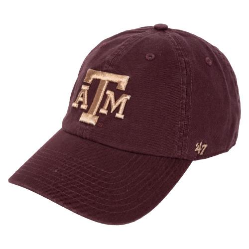 '47 Brand Women's Maroon Metallic Clean Up Cap