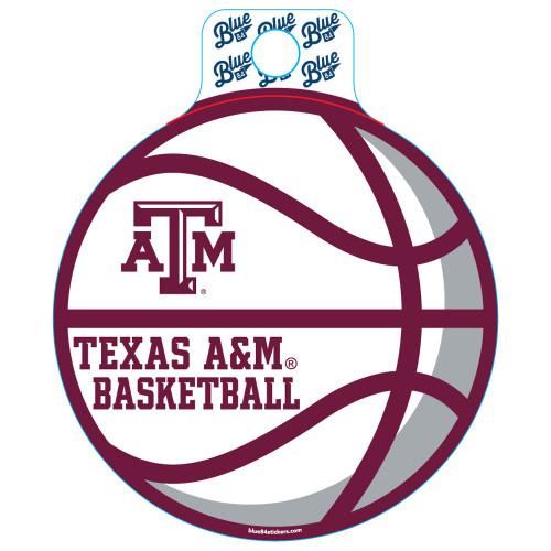 Blue 84 Educate Basketball Sticker