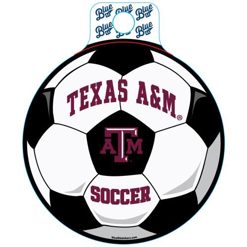 Blue 84 Educate Soccer Sticker