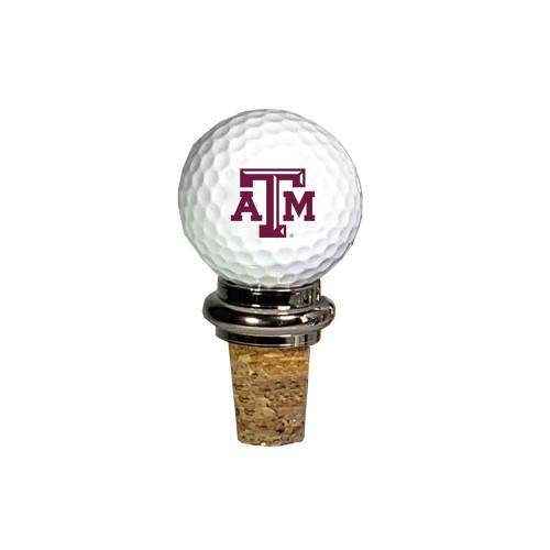 Texas A&M Aggies Team Golf Ball Cork Winestopper