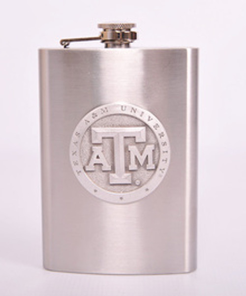 Heritage Pewter 8 Ounce Flask