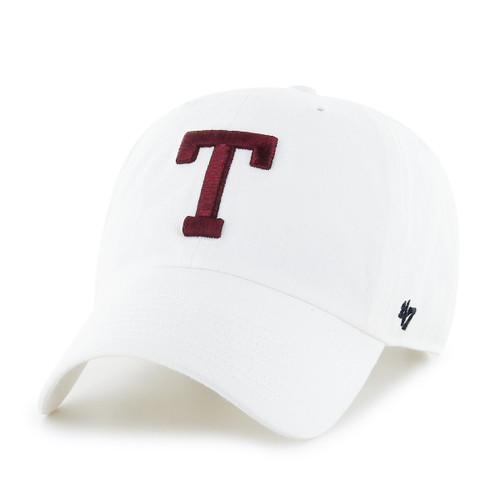 '47 Brand Men's White Block T Clean Up Cap