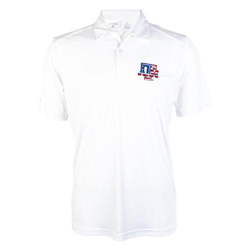 Antigua Men's White USA Tribute Short Sleeve Polo