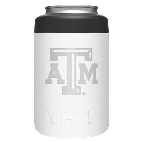Yeti White 12 Ounce Logo Colster Can Insulator