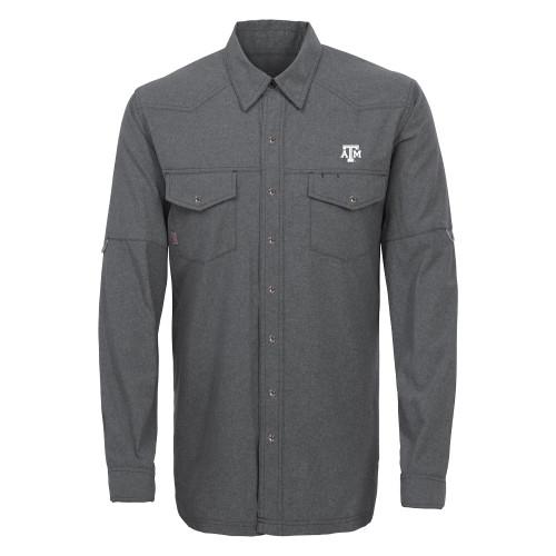 GameGuard Men's Caviar Pearl Snap Long Sleeve Shirt