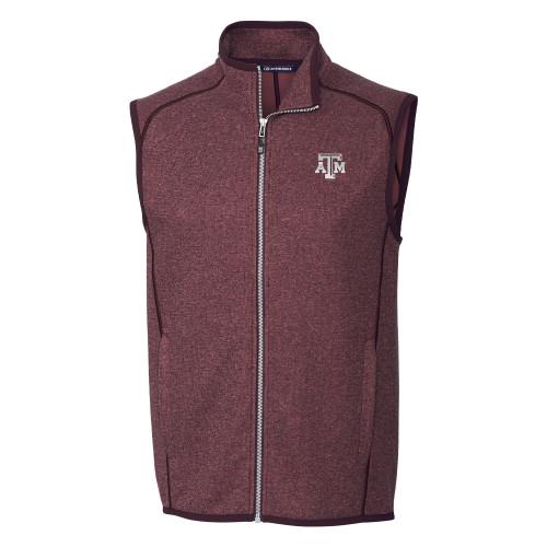 Cutter & Buck Men's Mainsail Sweater-Knit Full Zip Vest