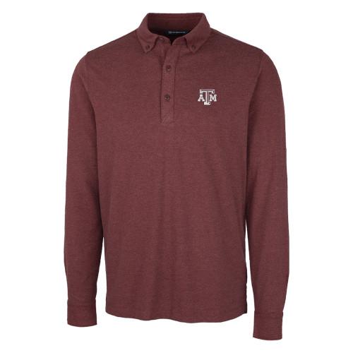Cutter & Buck Men's Advantage Jersey Long Sleeve Polo