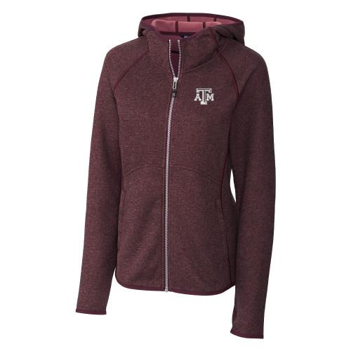Cutter & Buck Women's Mainsail Sweater-Knit Full Zip Hoodie
