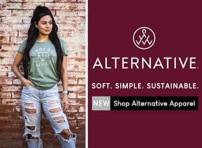 Maroon U - Alternative apparel