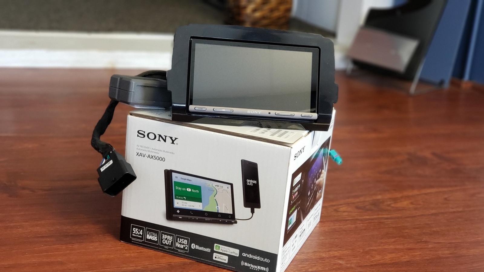 Sony XAV-AX5000 Carplay/Android Auto - Prewired 14+ Touring