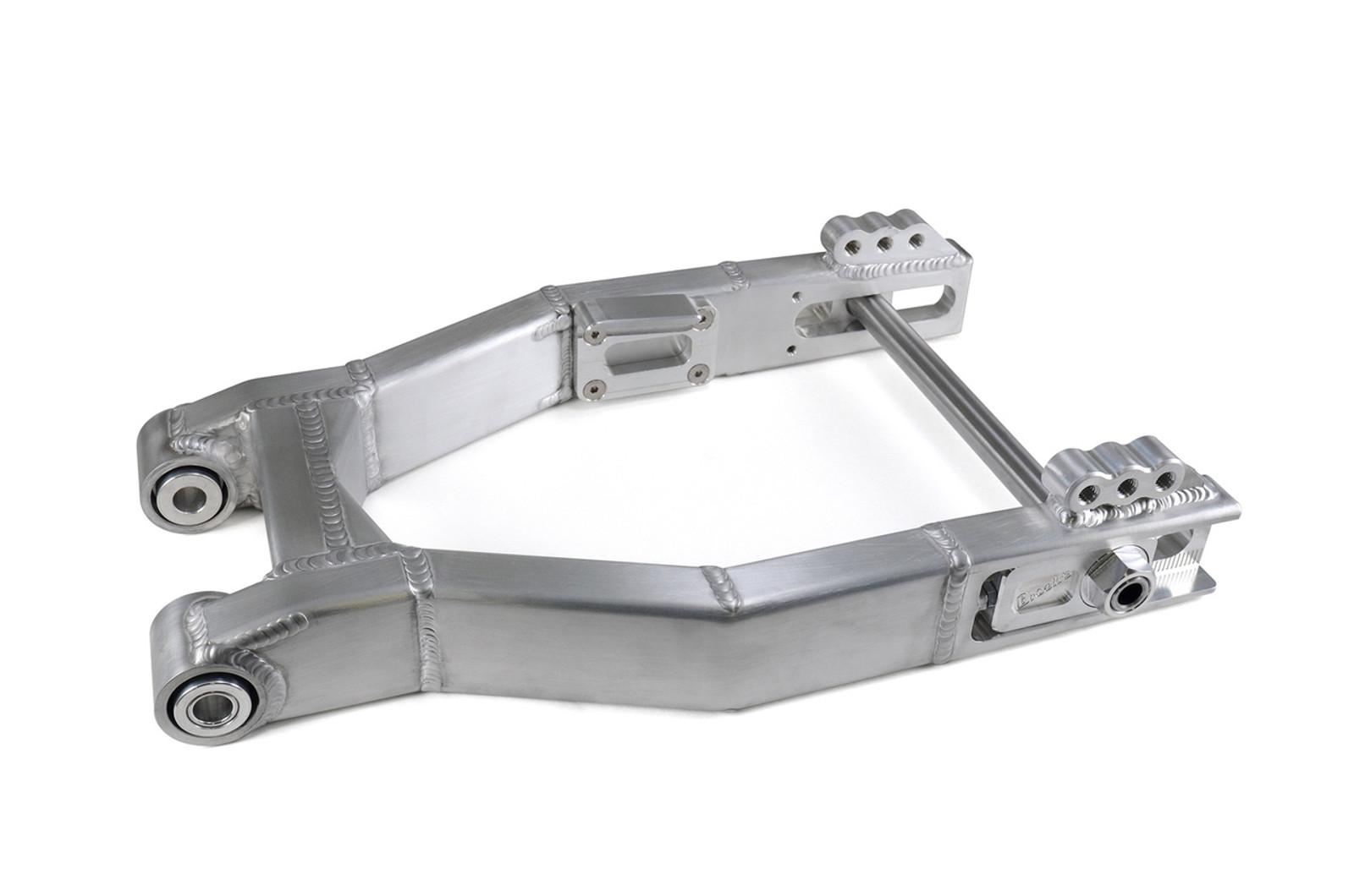 "West Coast Bagger Aluminum Swingarm 0-3"" Over w/ Spherical Bearings (09-18)"