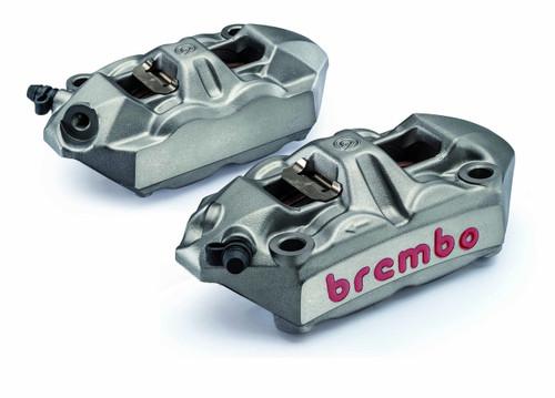 Brembo Calipers with Custom Finish