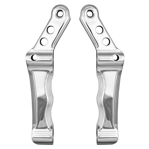 """Speed Merchant 11.5"""" Radial Caliper Adapters - Polished"""