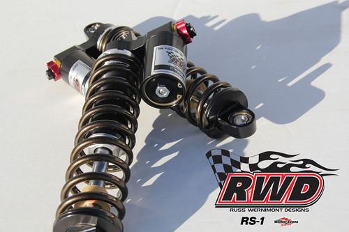 Russ Wernimont Designs RS-1 Shocks for Harley Davidson
