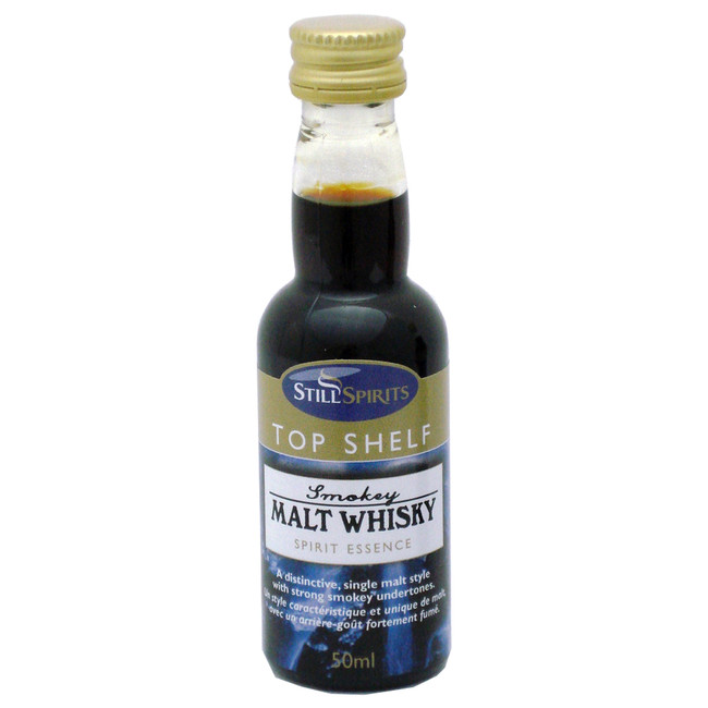 Still Spirits Top Shelf Smokey Malt Whiskey Essence