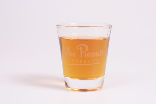 Pursuit Supply Shot Glass