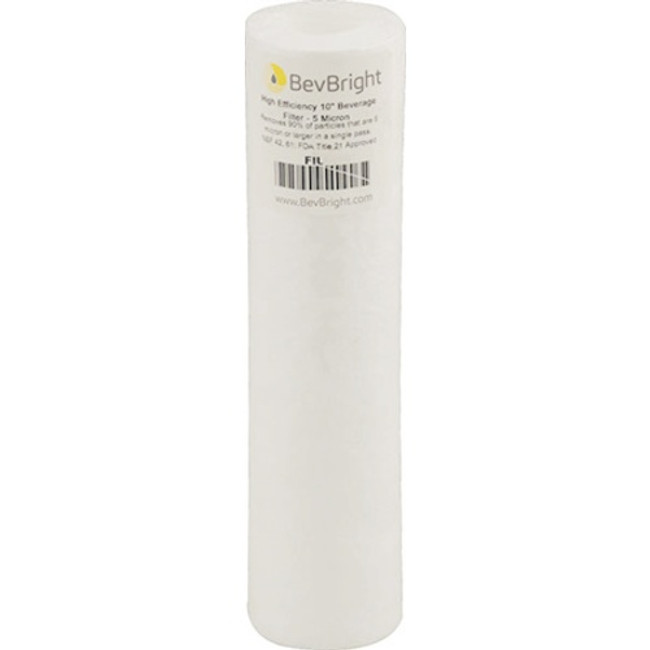 BevBright HE Beverage Filter 1 Micron
