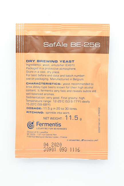 Fermentis SafAle BE-256 Dry Brewing Yeast