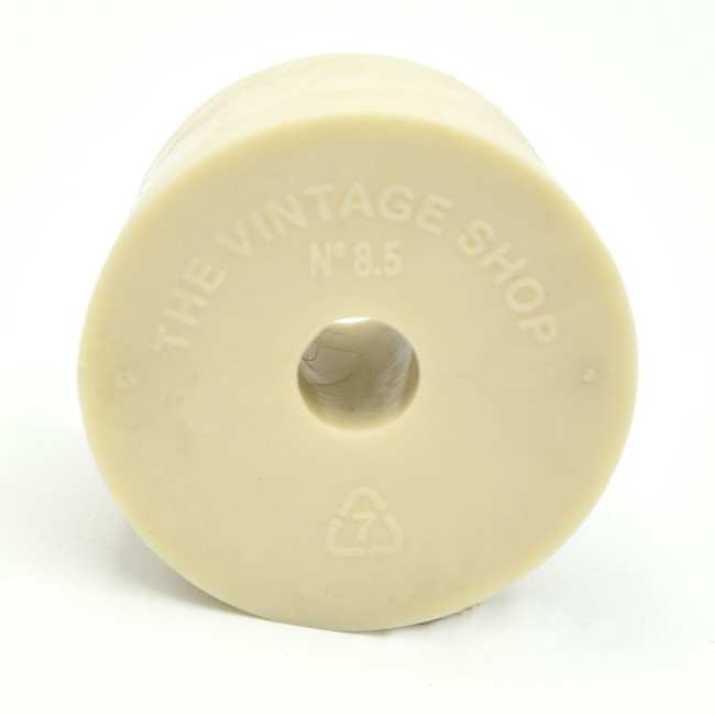 Rubber stopper with hole Hole used for airlock Great grip
