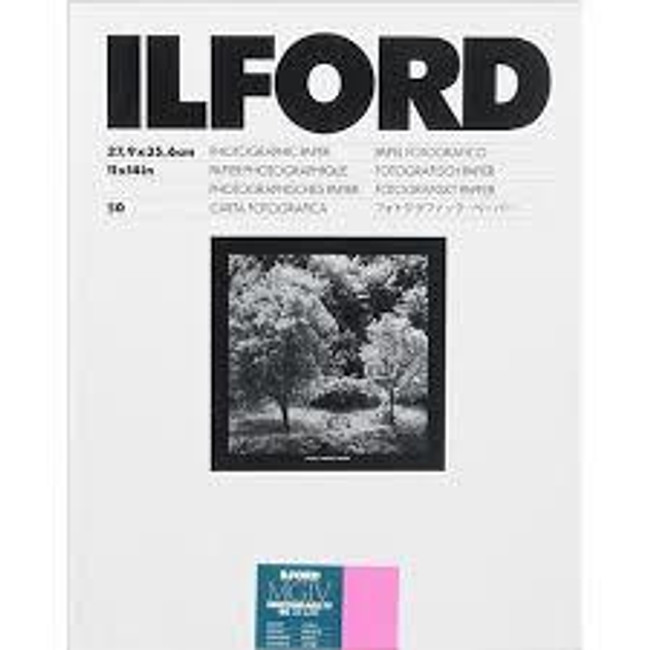 Ilford MGRCDL1M Multigrade RC Deluxe Paper Glossy 50 Sheets 8x10