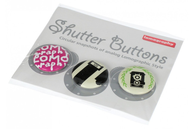 Lomography Embassy Pink Shutter Buttons