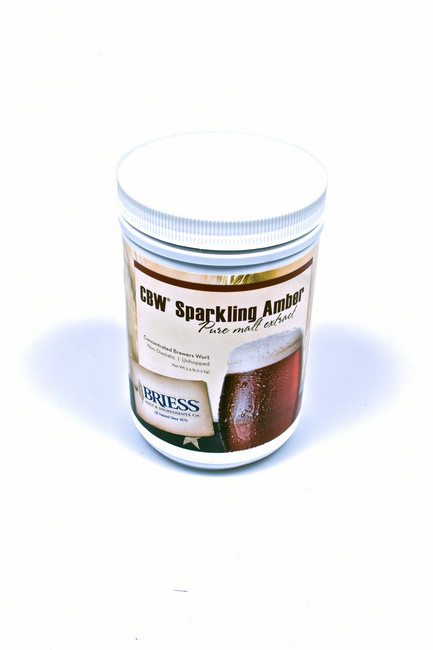 Briess CBW Sparkling Amber Pure Malt Extract 3.3 lb Canister