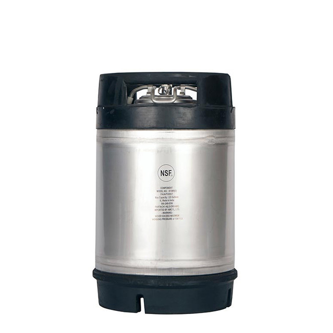 New AMYCL 2.5 Gallon Ball Lock Keg