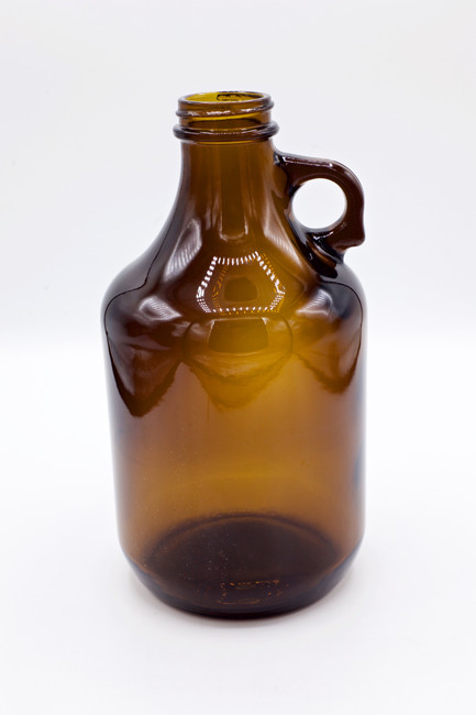 Amber Glass Growler 32oz