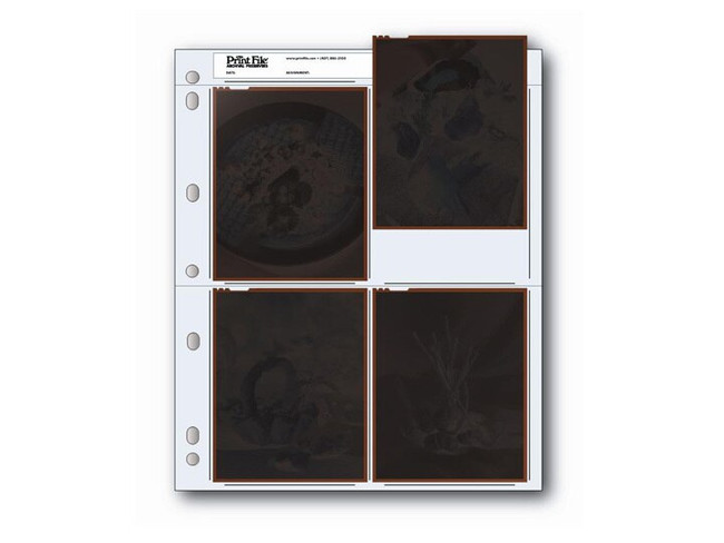 Print File 4x5 Negative Pages 25/pk