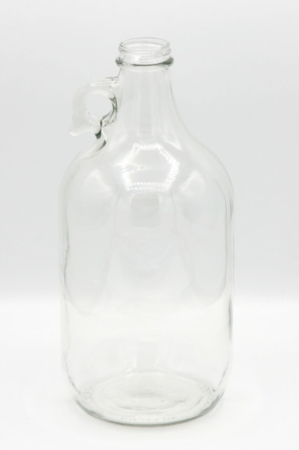 Clear Glass Growler 64oz