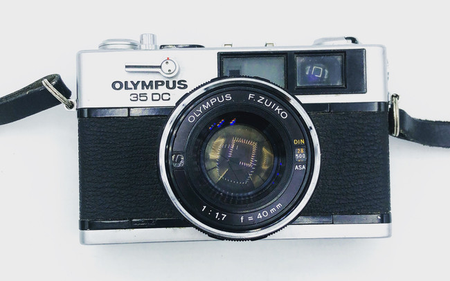 Olympus DC 35mm Rangefinder Camera