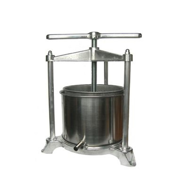 Tommy Fruit Press Stainless/Aluminum 5 L